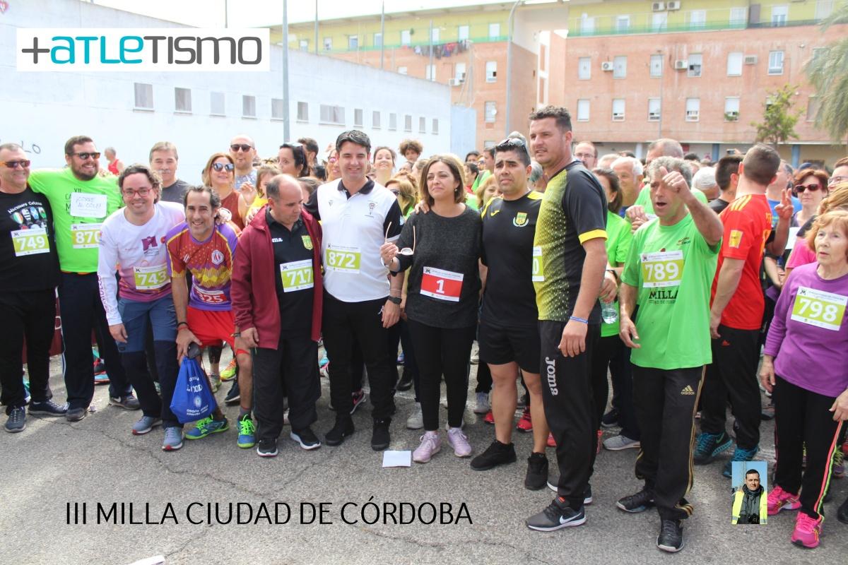 Raquel Hernández y Jose Gabriel Ruiz vencen con récord incluido en la III Milla Ciudad  de Córdoba