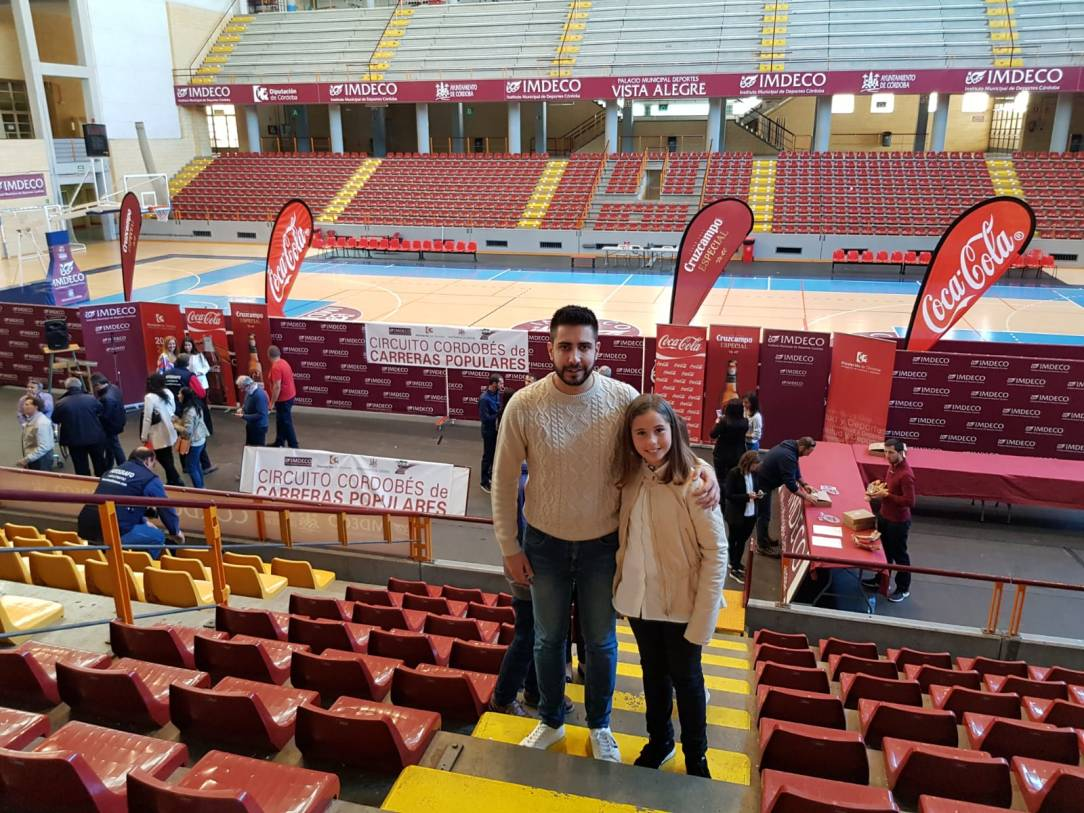 Miriam Laura y Víctor