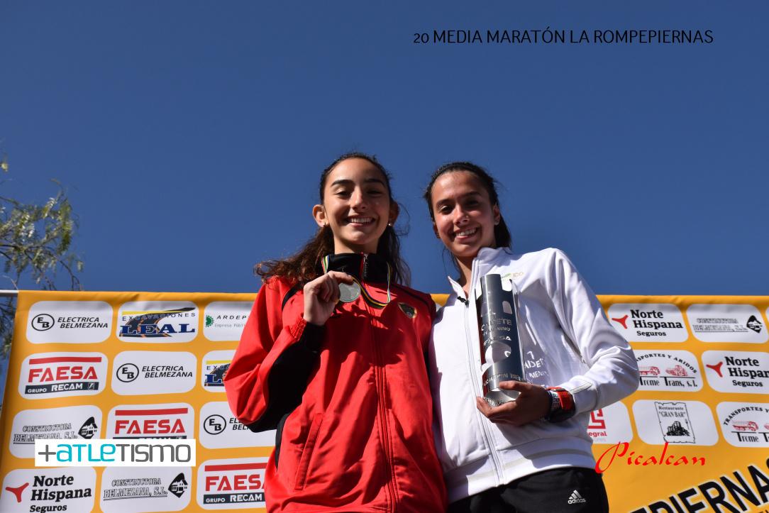 Podium Lucía Noelia Espiel