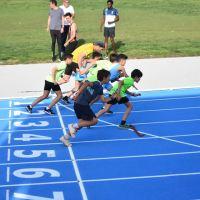 Abiertas al público las remodeladas pista de atletismo de San Pablo (Sevilla)