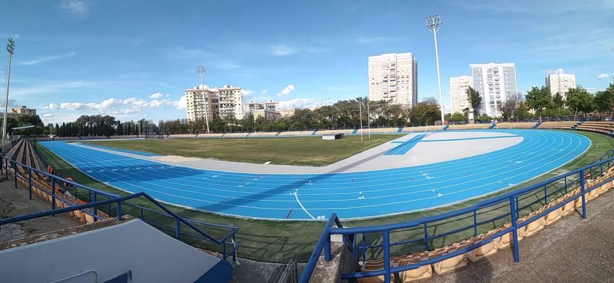 A partir del próximo lunes 22 de abril se podran utilizar la remodeladas pista de atletismo de San Pablo (Sevilla)