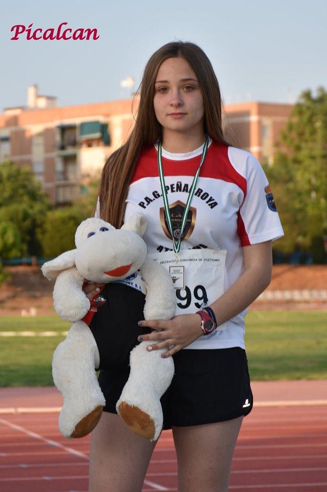 Celia Peñalta. Bronce en Jabalina