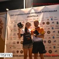 Los vencedores de la XVI Carrera Popular María Auxiliadora ha sido Laura Ropero Marín y Sergio Espejo Aguilar