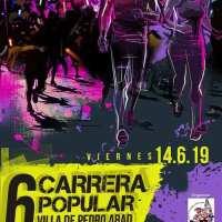 Rocio Marques y Manuel Jesús Cabezas se ajudican el triunfo en la 6ª Carrera Popular Villa de Pedro Abad