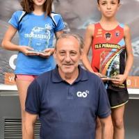Triple Victoria de Darío, terceros Aarón y Alonso, las dos Lucías y Natalia mejores marcas personales