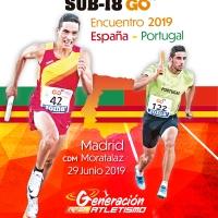 Selección para la Copa Ibérica Sub18 GO fit