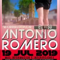 El cambio de ubicación de la salida y meta al campo de fútbol es una de las novedades de VII Carrera Popular Antonio Romero (El Viso-Córdoba)