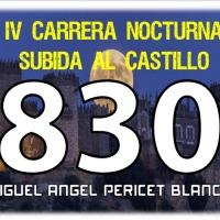 Ya podeis recoger vuetros dorsales para la IV Carrera Nocturna Subida al Castillo (Almodóvar del Río)