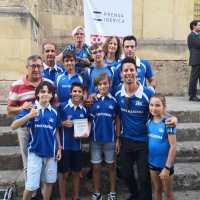 El equipo Sub14 masculino del Club Trotasierra distinguido por el Diario Cordoba con el Premio al Deporte Base