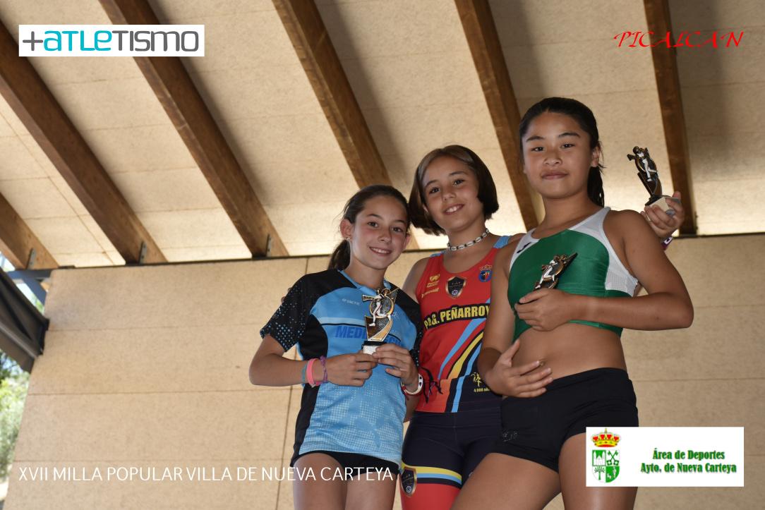 Miriam sube al podium