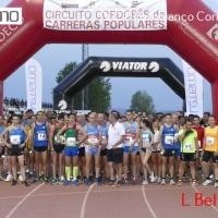 La jienense María Moyano y el cordobés José Luis Davila se alzan con el triunfo en la IV Carrera Popular Pozoblanco Corre de Noche