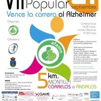 Ya tenemos aquí la VIII Carrera Popular Vence la Carrera al Alzheimer (21 de septiembre- Montilla)