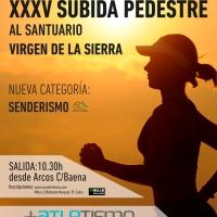 Abrimos las inscripciones para la XXXV Subida Pedestres al Santuario Virgen de la Sierra este año con dos novedades, veter@s  D y Senderimo