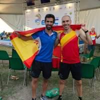 Diego De la Fuente y Manuel Jesús Burgos se proclaman Campeones de Europa de 3000m. Obstáculos en Jesolo (Italia) en categoría M35 y M40 respectivamente