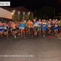 Manuel Jesús Burgo y Carmen Gutierrez se adjudican el triunfo en la XII Carrera Popular Nocturna Corazón de los Alcores (Viso  del Alcor-Sevilla)