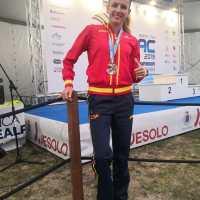 La cordobesa Raquel Hernandez Rufs sube al pódiun en Venecia consiguiendo tres espléndidas medallas de plata