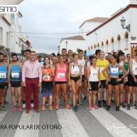 Los vencedores de la V Carrera de Otoño de Nueva Carteya han sido Diego de la Fuente y Fátima Ouhaddou