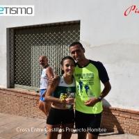Ismail Serroukh y Ana María Cantero se imponen en el II Cross Solidario Entre Castillo Proyecto Hombre