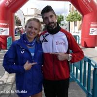 Raquel Hernandez y Juan Bautista Éxposito intratables en el XXXVI Cross San Rafael de la Albaida