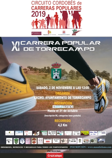 CARRERA POPULAR DE TORRECAMPO 2019
