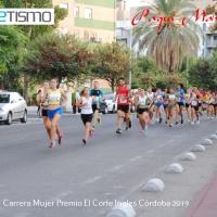 Irene Rancaño Lopez Reina en la Carrera Mujer Premio El Corte Ingles de Córdoba