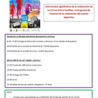 ÚLTIMAMOS LOS DETALLES para el II Cross Entre Castillos organizada por Proyecto Hombre