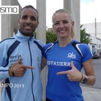 Raquel Hernández tiene que emplearse a fondo para lograr el triunfo y Abdelhadi no encuentra rivales para vencer en la CP Torrecampo