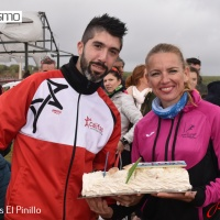 """Raquel Hernández y Juan Bautista Expósito se anotan el triunfo en el I Cross """"El Pinillo"""" celebrado en Almodovar del Río"""