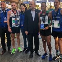 Un inconmesurable Antonio Montero se hace con la segunda plaza en la Zurich Media Maratón Málaga 2019