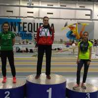 La cordobesa Carmen Aviles Palos se proclama campeona de Andalucía Sub23 en los 400 metros con una buena marca