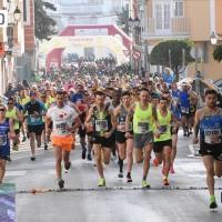 El portugues Claudio Rodrigues y Fátima Azzahraa Ouhaddou ha sido los vencedores de la XXX Media Maratón Villa de Puente Genil