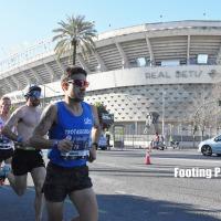 El pozalbense Ángel Muñoz Pérez segundo andaluz en la Maratón de Sevilla