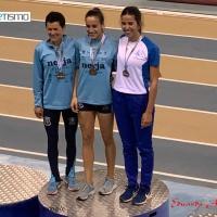 Irene Rancaño bronce en el Andaluz de pista cubierta en los 3.000 metros