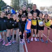 Numerosas Mejores Marcas Personales del C.D. Atletismo Sierra Norte de Córdoba en el control de Andújar