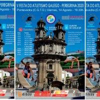 """Este viernes se celebra """"Festa do Atletismo galego. Peregrina 2020"""""""