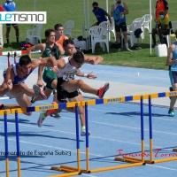 Doblete de Eneko Karaskal en los salto horizontales y victoria de Martínez sobre Llopis en los 110 m/v con récord de los campeonatos