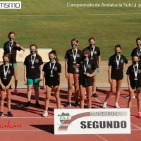 El Club Sierra Norte se proclama subcampeón de Andalucía por equipos Sub14 en féminas