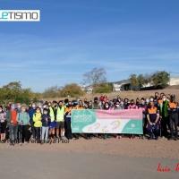 Celebrada la interesante Ruta de Senderismo I Subida al Peñón en Peñarroya-Pvo