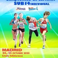 Seis atletas cordobeses en el Campeonato de España Sub14 que se va a celebrar este fin de semana en Madrid