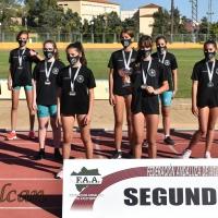 El Club de Atletismo Sierra Norte realiza un debut de ensueño en su primera temporada en la competición
