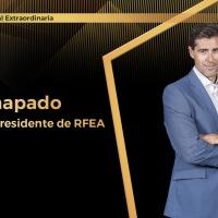 Raúl Chapado, reelegido presidente de la RFEA