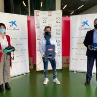Abus Ibérica, a través del programa ReUtilízame de CaixaBank, dona más de 130 cascos a la Federación de deporte adaptado de Bizkaia