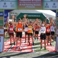 Comunidad Valenciana en hombres y Cataluña en mujeres triunfan en el Campeonato de España de Trail Running por federaciones autonómicas
