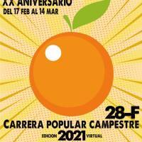 Aquí te puedes inscribir en la Carrera Popular Campestre de La Naranja (El Valle-Granada)