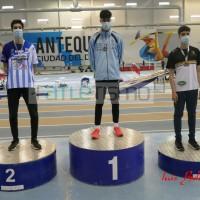 El Atleta del Gedysa José Pérez León se proclama Campeón de Andalucía en 60m/v Sub20
