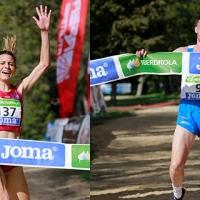 Irene Sánchez-Escribano y Carlos Mayo repiten como campeones de España de campo a través