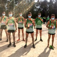 Gran trabajo de los atletas componentes de la Selección Andaluza que han obtenido cuatro medallas en el Campeonato de España de Campo a Través
