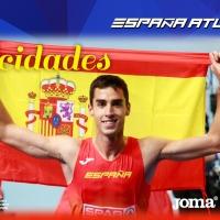 Llega la primera medalla para España Atletismo, Jesús Gómez, bronce Europeo de 1.500m