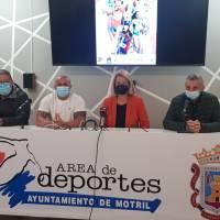 Presentación del XVIII Campeonato de Andalucía de Clubes Sub 20, que acoge Motril este sábado