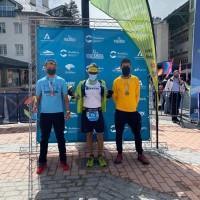 El atleta del Club Gedysa Victor Pimentel bronce en el Campeonato de Andalucía Absoluto de Ultra Trail